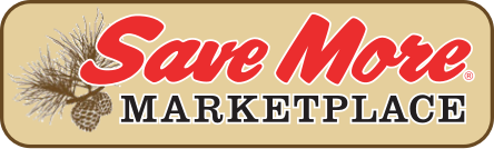 A theme logo of Save More Marketplace